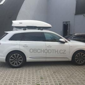 Montáž na Audi Q7 – Thule Edge 9596 + Motion 800 White